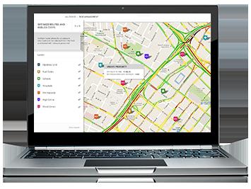 Optimización de rutas de transporte