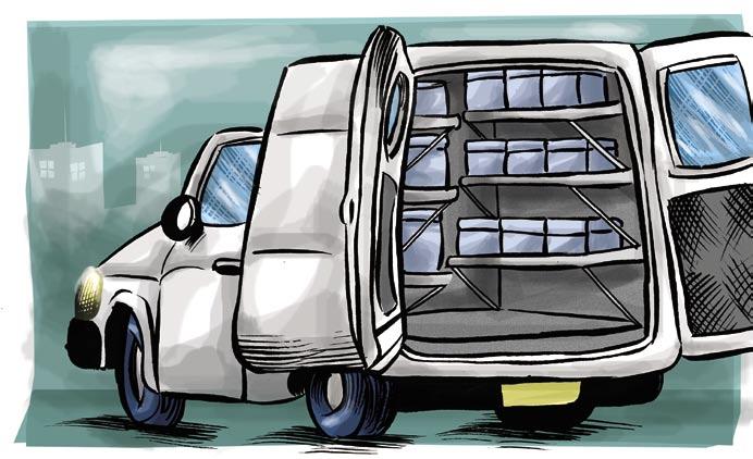 Software para transporte de alimentos