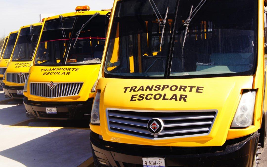 Programa para rutas de transporte escolar